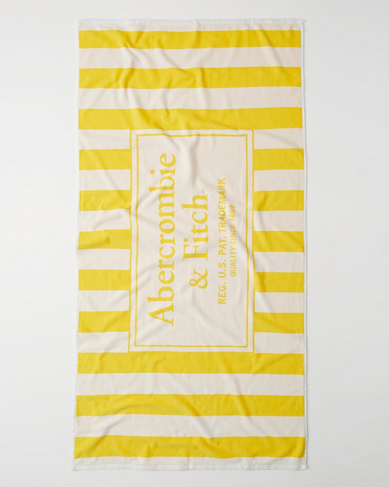 Serviette De Bain Abercrombie.Femme Serviette De Plage Avec Logo Femme Liquidation