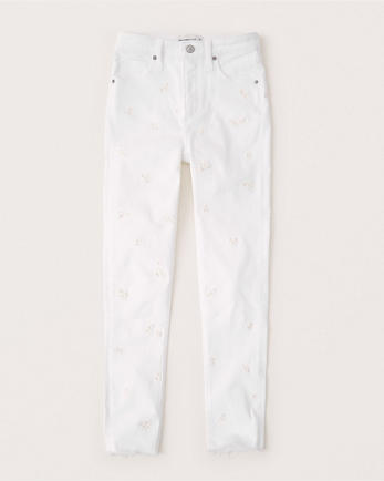 ANFHigh Rise Super Skinny Ankle Jeans