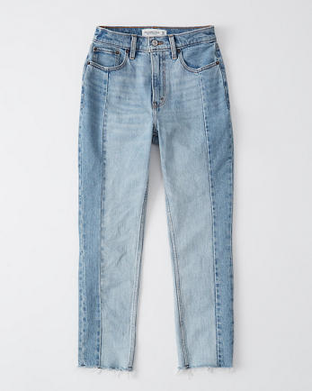 ANFHigh Rise Mom Jeans