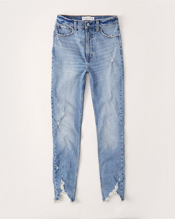 ANFHigh Rise Skinny Jeans