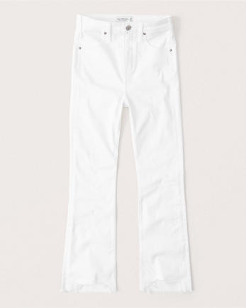 ANFHigh Rise Ankle Flare Jeans