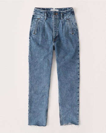 ANFUltra High Rise Mom Jeans