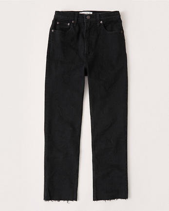 ANFUltra High Rise Ankle Straight Jeans