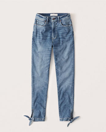 ANFCurve Love High Rise Super Skinny Ankle Jeans