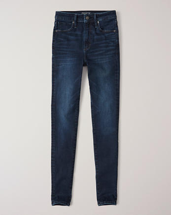 ANFHigh Rise Super Skinny Jeans