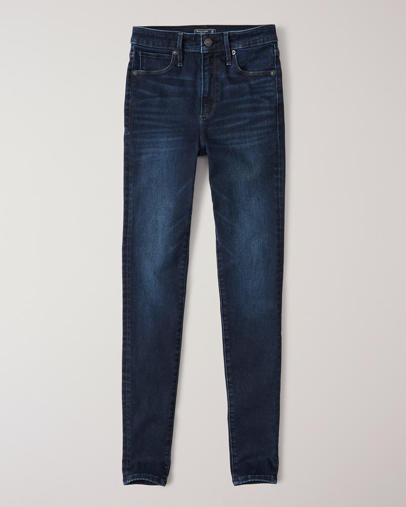 85816f69d0b1e Womens High Rise Super Skinny Jeans