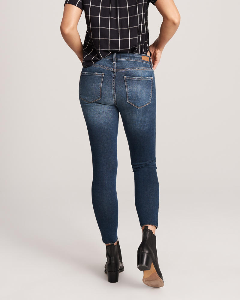 6e7e182c1ba Womens Ripped Low Rise Ankle Jeans | Womens Clearance | Abercrombie.com