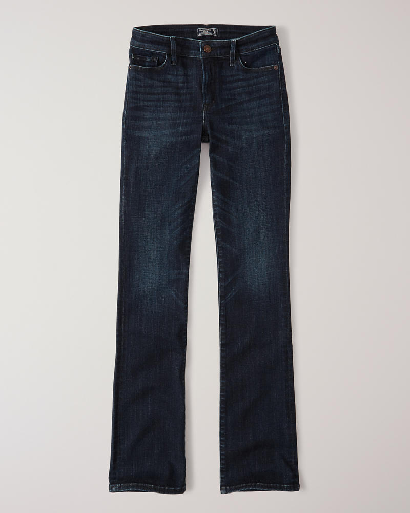 2bb14c9287 Mujer Jeans de corte bota de tiro bajo