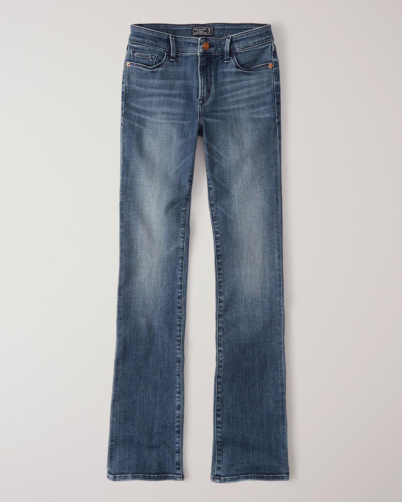 4658b025704 Womens Low Rise Bootcut Jeans | Womens Bottoms | Abercrombie.com
