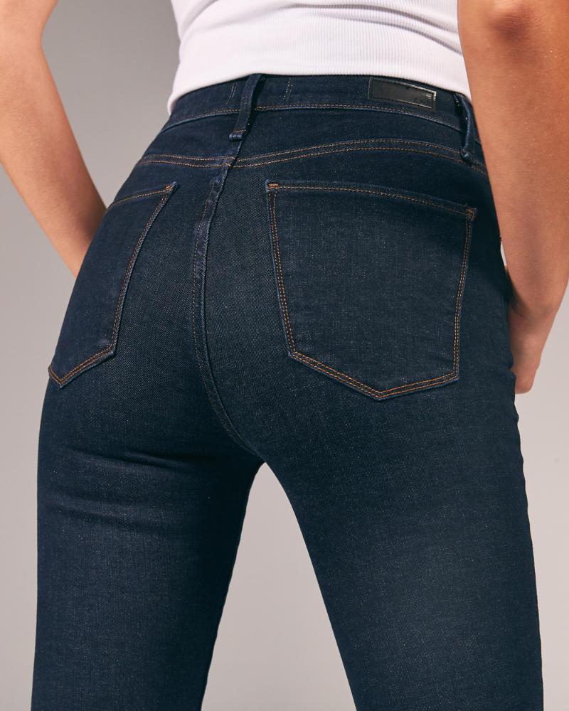Mujer Jeans Superajustados De Tiro Alto Mujer Partes