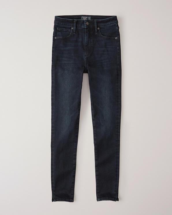 4e9899d6ab Femme Jean super skinny longueur cheville A&F taille haute | Femme ...