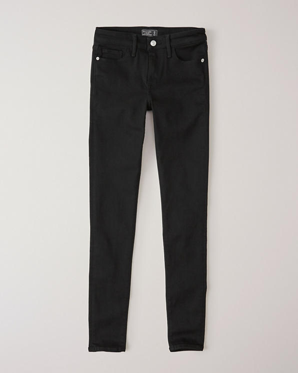 2f29527c5 Womens Low Rise Super Skinny Jeans | Womens Bottoms | Abercrombie.com