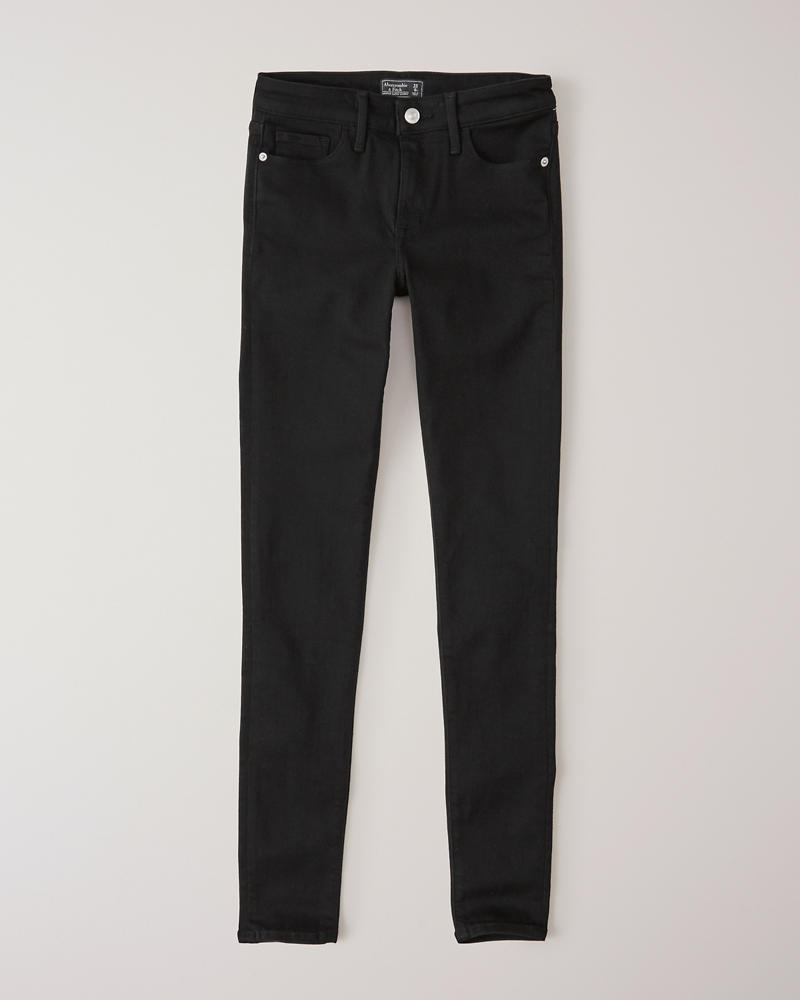 687564bbb7b015 Womens Low Rise Super Skinny Jeans | Womens Bottoms | Abercrombie.com