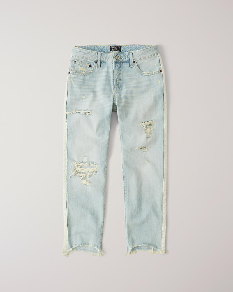 a580429d0dc Womens Low Rise Boyfriend Jeans | Womens Clearance | Abercrombie.com