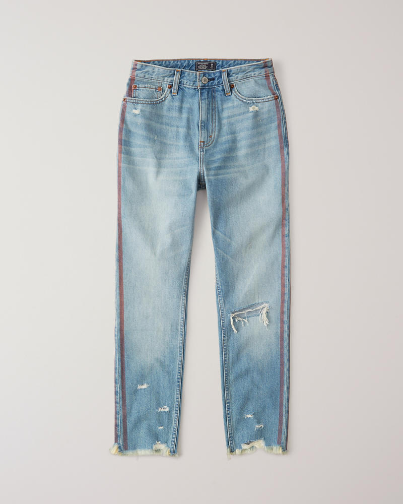 2aa905a247024 High Rise Mom Jeans | Abercrombie.co.jp