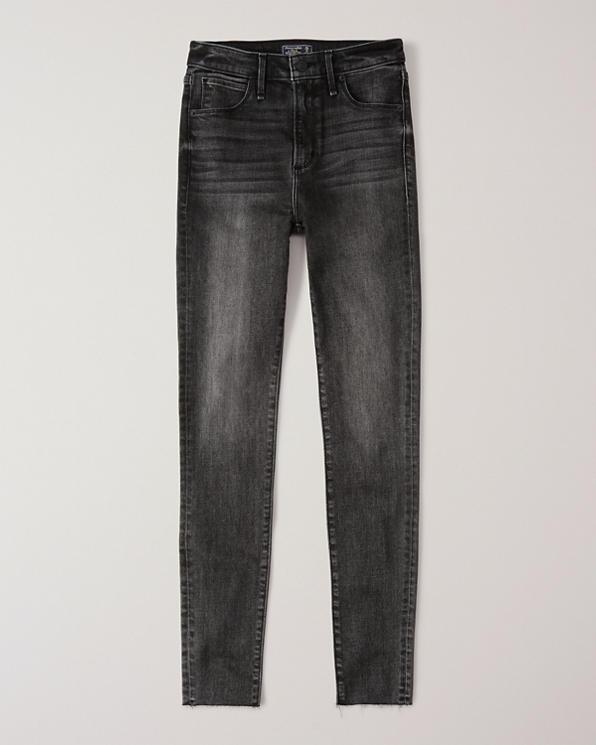 Damen High Rise Super Skinny Jeans   Damen Unterteile
