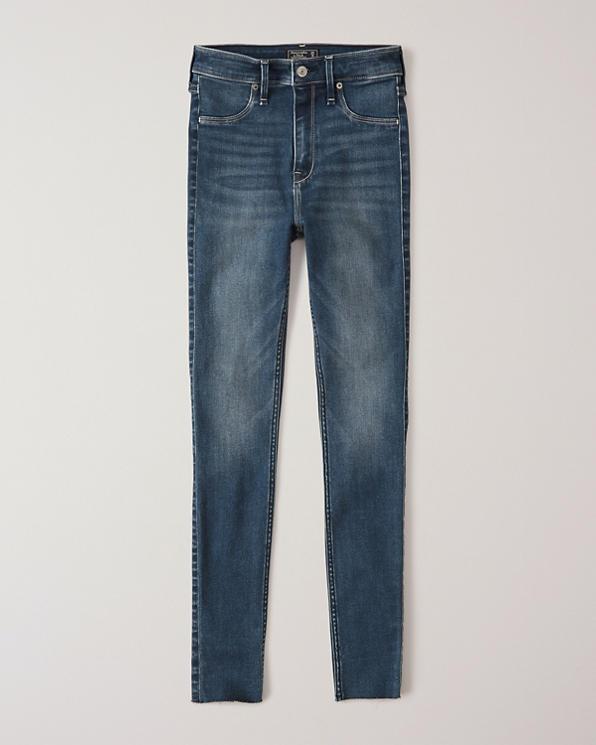 Damen High Rise Jeans Leggings | Damen Unterteile