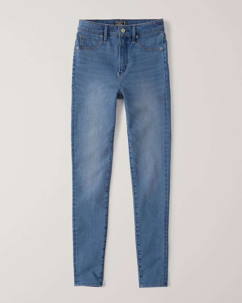 d63d31adfa Sculpt High Rise Ankle Jean Leggings | Abercrombie.sg