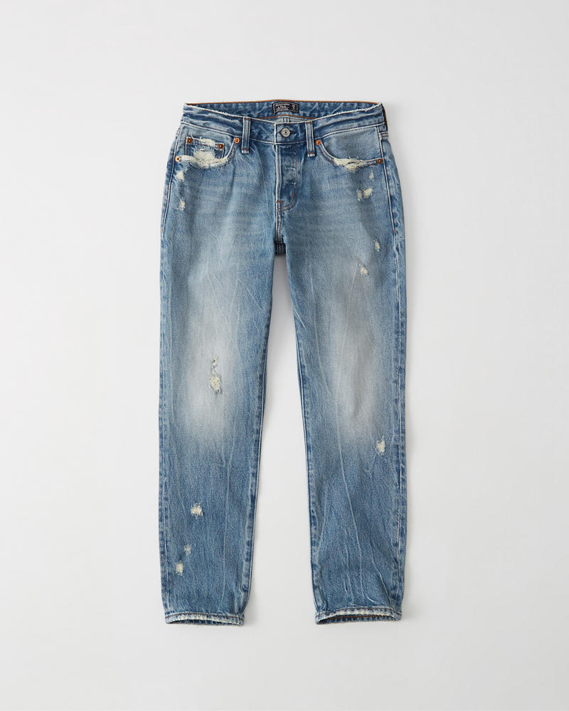 740914510 Womens Low Rise Boyfriend Jeans | Womens Bottoms | Abercrombie.com