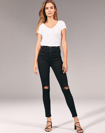 30ee5b746 Womens Super Skinny Jeans | Abercrombie & Fitch