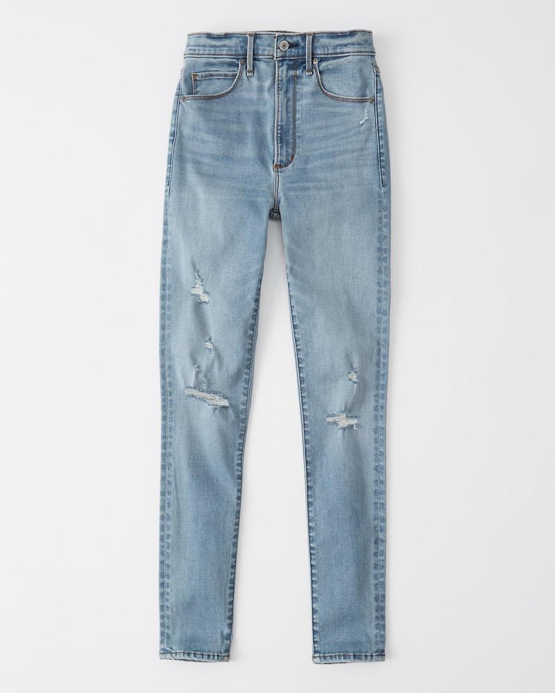 4939675752d Womens Ultra High Rise Super Skinny Jeans   Womens Bottoms ...