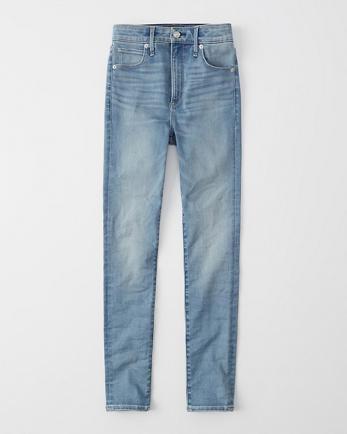 ANFHigh Rise Super Skinny Jeans