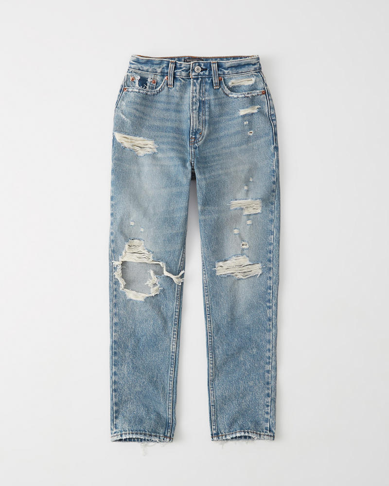 Do 96 Hours Ripped High Rise Mom Jeans | Do 96 Hours Getaway