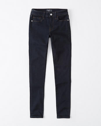 ANFMid Rise Super Skinny Jeans