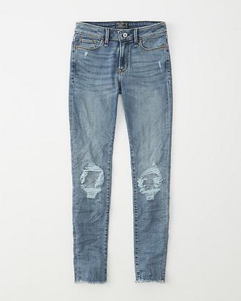 ANFMid Rise Super Skinny Jeans