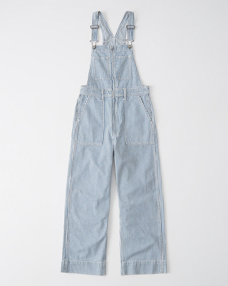 26dfe44591917 Womens Cropped Wide-Leg Overall | Womens Bottoms | Abercrombie.com