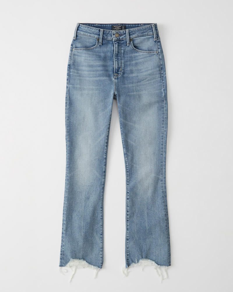 c025088f2e5a8a Womens High Rise Ankle Flare   Womens Clearance   Abercrombie.com