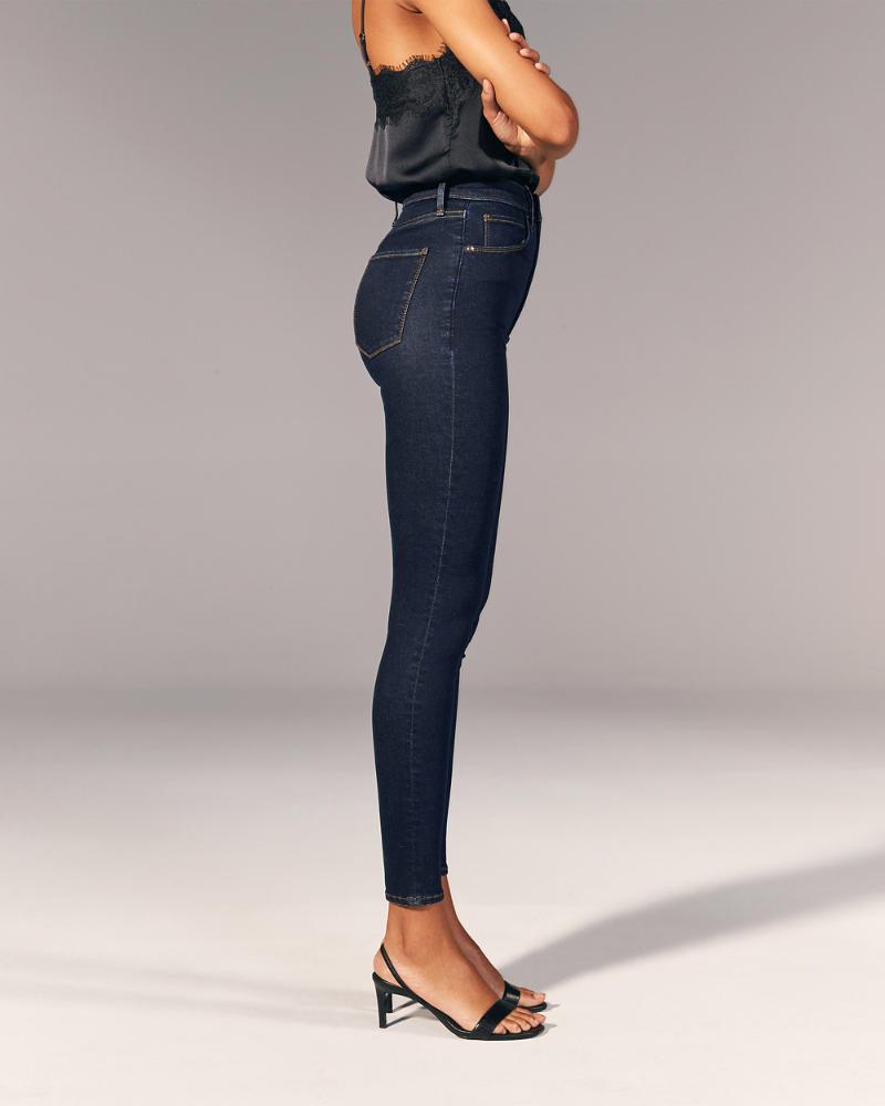 Mujer Jeans Superajustados De Tiro Muy Alto Mujer Partes