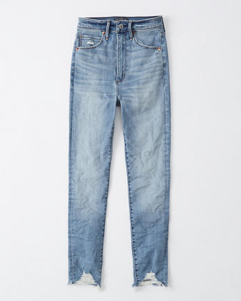 ANFUltra High Rise Super Skinny Ankle Jeans