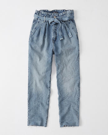 ANFUltra High Rise Paperbag Waist Jeans