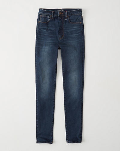 Ultra High Rise Super Skinny Jeans by Abercrombie & Fitch
