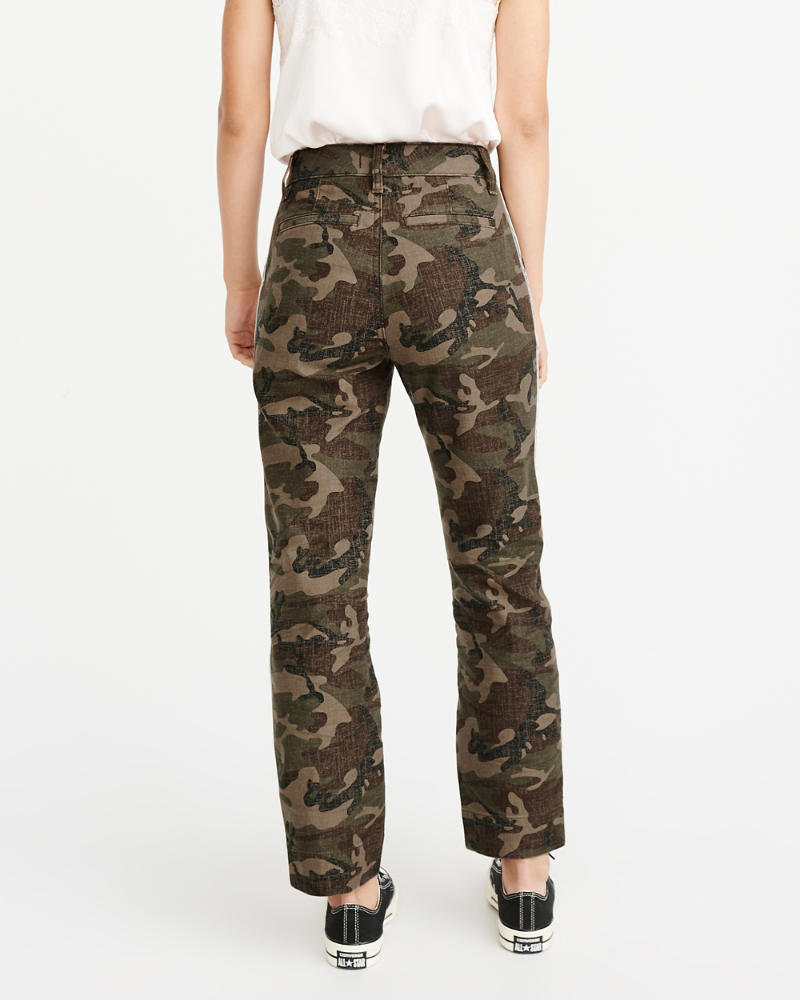 a5a84dcbbdf Womens Camo Side Stripe Pants