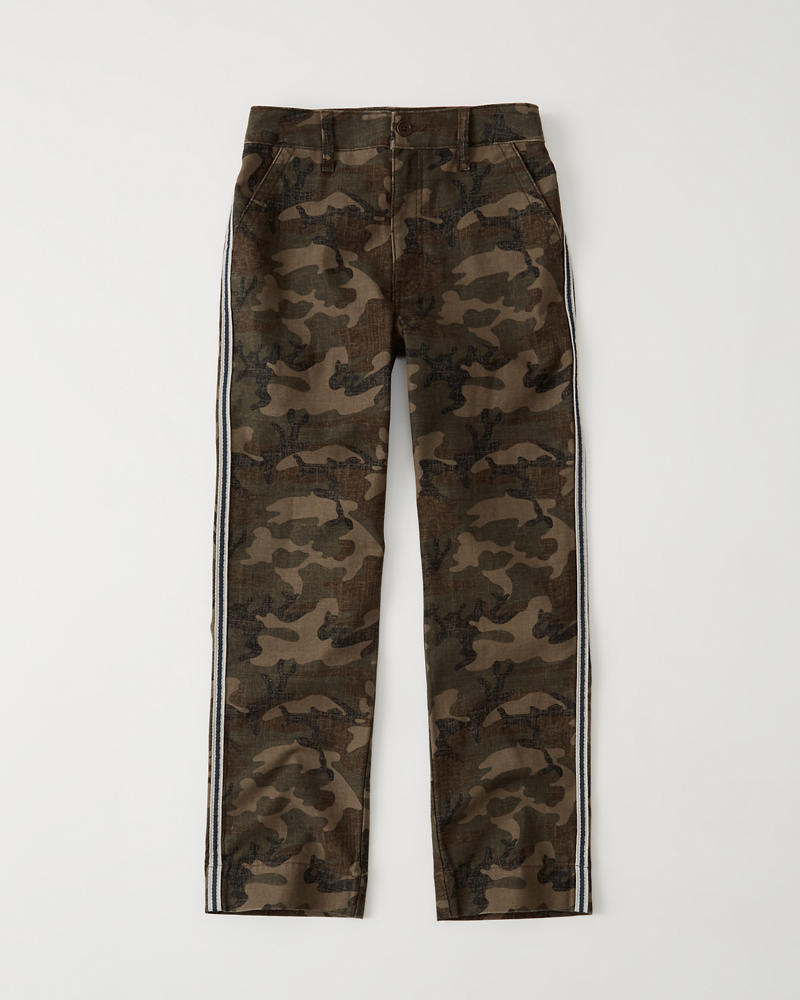 8d8dcdb3fa0 Womens Camo Side Stripe Pants