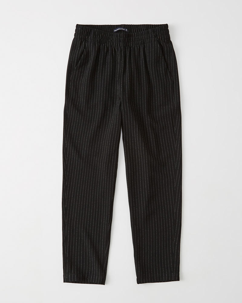 Tapered Crepe Pants by Abercrombie & Fitch