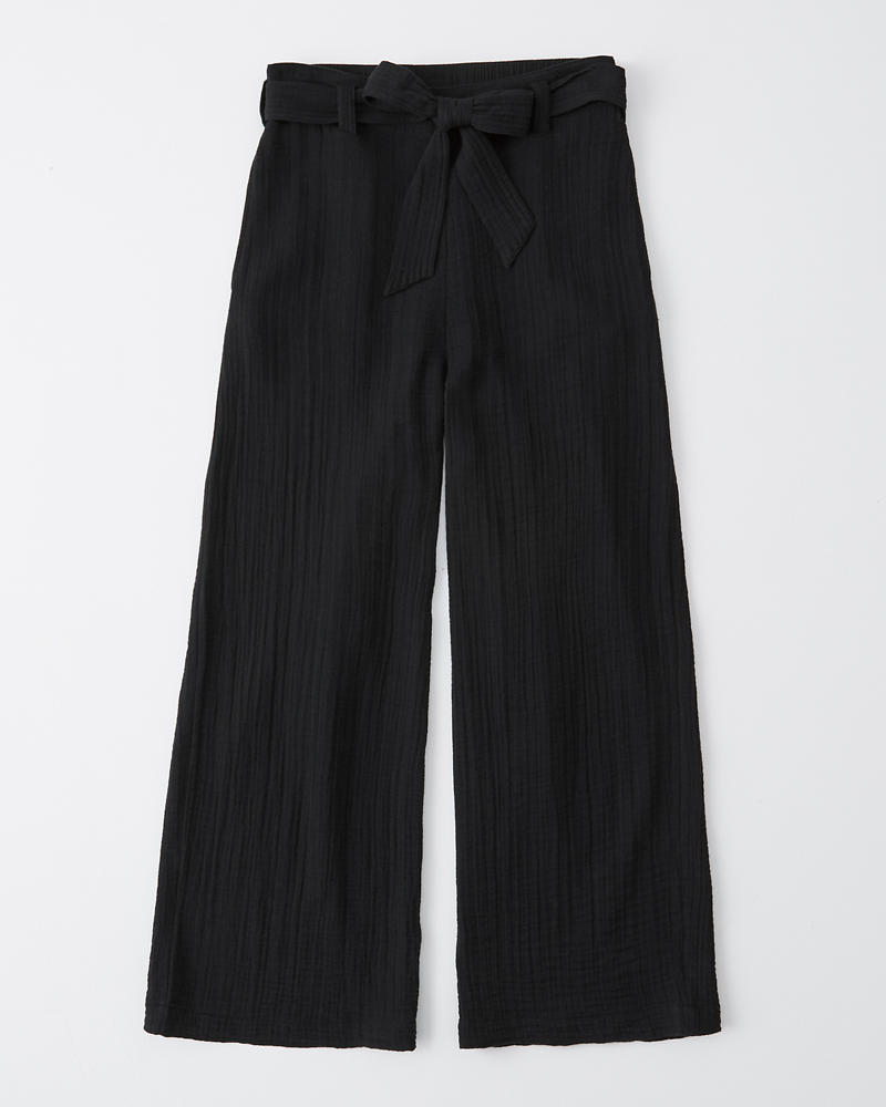 efc1ee0a3f Womens Cropped Wide-Leg Pants | Womens Clearance | Abercrombie.com