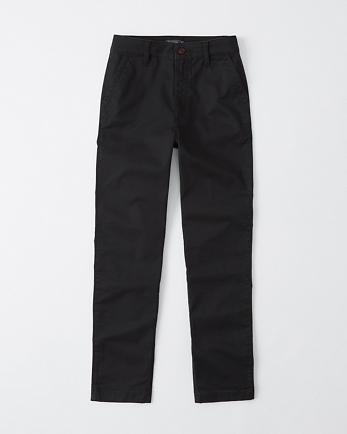 ANFHigh Rise Chino Pants