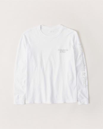 ANFLong-Sleeve Logo Tee