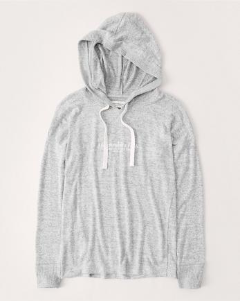 ANFLong-Sleeve Cozy Hoodie