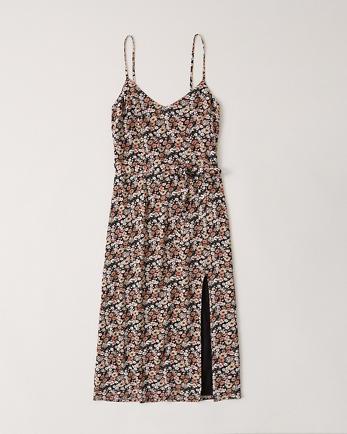 ANFSatin Cami Slip Dress