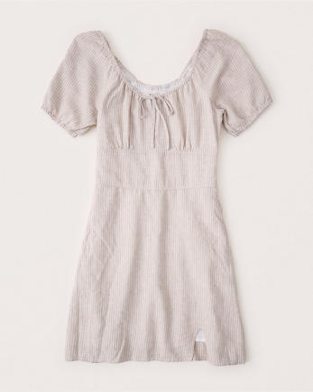 ANFRuched Mini Dress