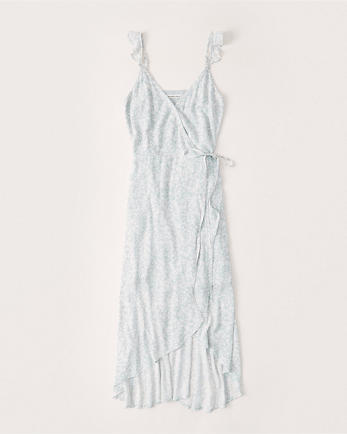 ANFHigh-Low Wrap Dress