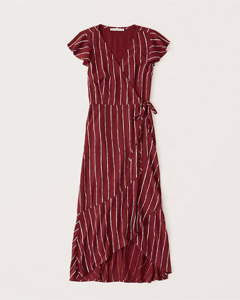 ANFWrap Midi Dress