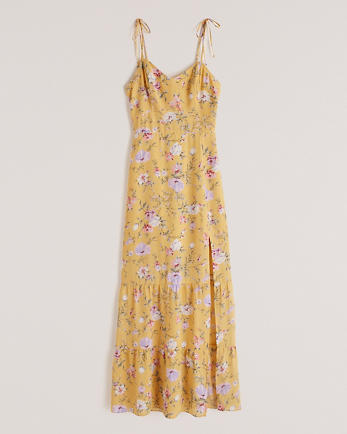 ANFBlushing Tiered Midi Dress