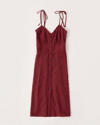 ANFButton-Up Midi Dress