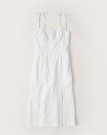 ANFCami-Strap Midi Dress