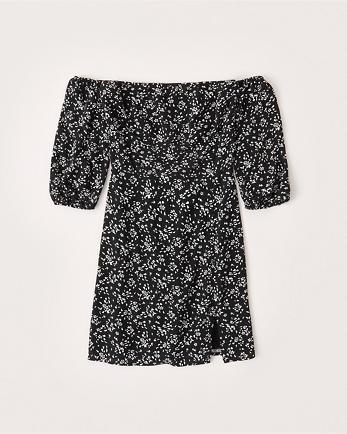 ANFOff-The-Shoulder Mini Dress